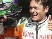 Grand Prix Belgique 2009 Giancarlo Fisichella Force India pole