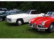 Mamm-Goz. défilé véhicules anciens nord Bretagne