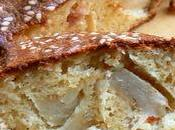 Cake allégé sans gluten artichaut cerfeuil sésame