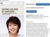 Contre Hadopi, Corinne Lepage offre l'ebook Entre Colère espoirs