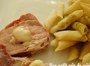 Filet mignon jambon tomme brebis pates pesto sans lait gluten