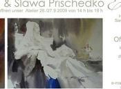 Portes ouvertes l'atelier Viktoria Slawa Prischedko Trèves (Allemagne)
