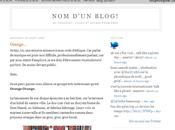 d'un blog