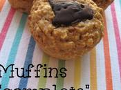 """Muffins """"complets"""" chocolat noir"""