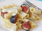 Rigatoni gorgonzola fichi