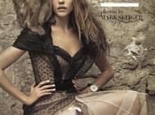 Shooting sexy baroque d'Isabel Lucas pour Vogues italie