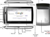 Mangrove, tablette tactile sous Windows Mobile