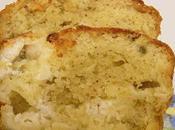 Cake crottin chèvre l'estragon
