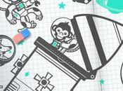 singes dans l'espace chez e-glue