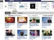 chaîne YouTube pour universités grandes écoles