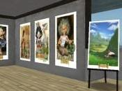 Alsace exposition Roland Perret Second Life.
