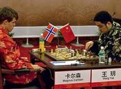 Tournoi d'échecs Nanjing balle match pour Carlsen