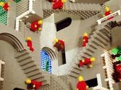 oeuvres M.C. Escher Lego