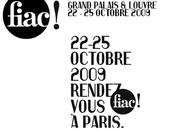 Fiac grand palais louvre 22-25 octobre 2009
