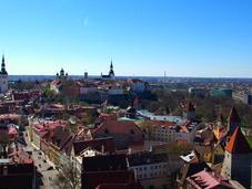 Depuis sommets Tallinn