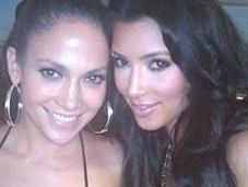 Kardashian Jennifer Lopez font fête Twitter