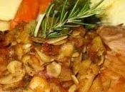 Côtelettes Porc Pommes, Amandes l'Érable