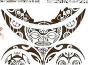 Motif Tatouage Polynésien.(3)