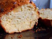 Cake salé pommes, noisettes vieux gouda