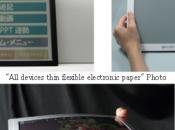 Bridgestone deux lecteurs ebooks, couleur, tactile, flexible