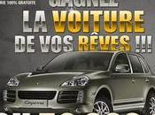 Gagnez Porsche Cayenne