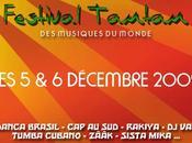 Festival musiques monde.