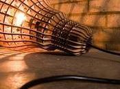 Lampe ampoule design Woodlight