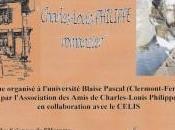Colloque Charles-Louis Philippe romancier
