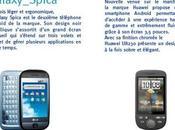 Samsung Spica, GW620, Huawei U8230, Tattoo armée d'Android arrive chez Bouygues Telecom