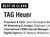 Notre client Heuer récompensé pour stratégie digitale