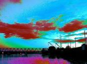 Coloriage, pont Rhin.