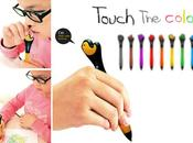 feelor touch color pencils blind preschool kids