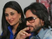 Saif Khan Kareena Kapoor font promo KURBAAN Dubai.