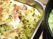 Gratin chou Romanesco bacon