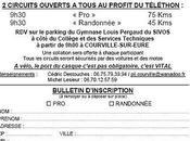 Randonnée Cycliste Véléthon Courville-sur-Eure,le DECEMBRE