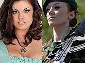 soldate l'armée britannique devient Miss Angleterre