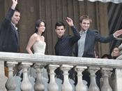 Kristen Stewart, Robert Pattinson Taylor Launter Hôtel Crillon