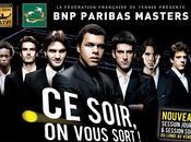 Masters tennis Paris Bercy 2009 programme jeudi novembre
