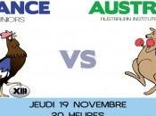 Rugby XIII France-Australie Minimes