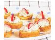 Bouchées Ratte Touquet mousse hareng citronnée