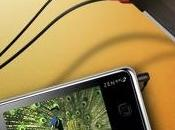 nouveau baladeur Creative X-Fi passe l'écran tactile