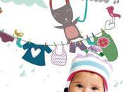 Stickers pour décorer l'espace langer bébé