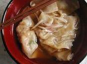 Raviolis chinois bouillon