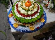 Gâteau fleurs, rien pour yeux