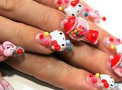 Nail avec Hello Kitty