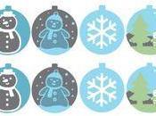 Stickers pour décoration Noël