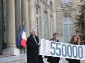 Sarkozy veut réduire émissions effet serre d'ici 2020