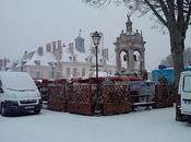 Châteaudun sous neige.