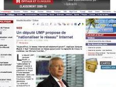 Jacques Myard veut nationaliser Internet