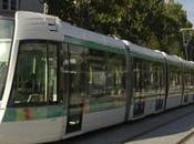 tram montera Romainville l'hiver